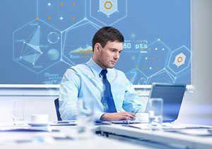 321 Web Marketing associate conducting data preparation and analysis