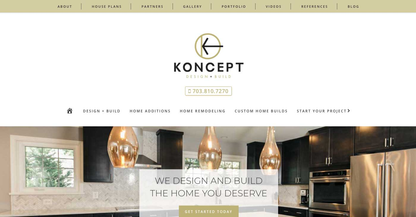Koncept db 321 web marketing for Koncept design