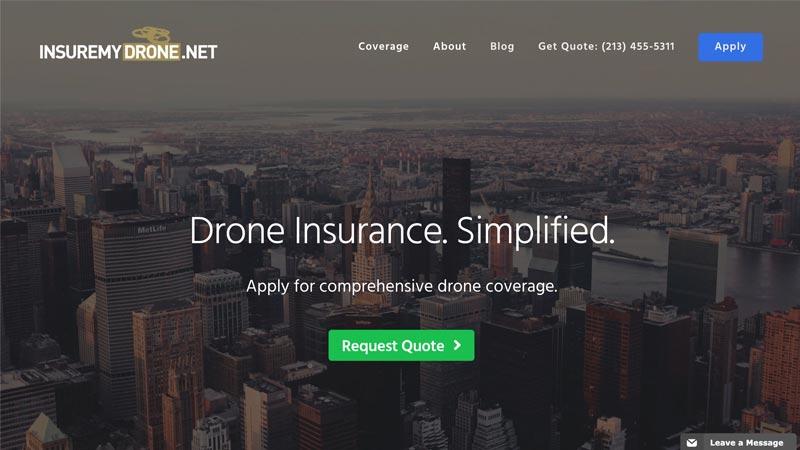 Insure My Drone Desktop Screenshot