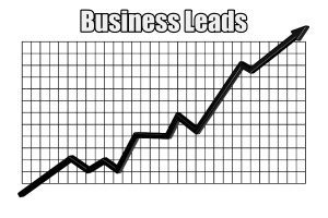an upwards business leads trend over time with a law firm marketing plan