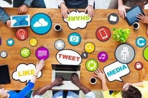 a list of social media outlets that will need marketing strategies implemented by a digital marketing intern