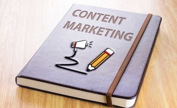 a book written by a digital marketing agency that discusses content marketing and how it factors into a good marketing campaign