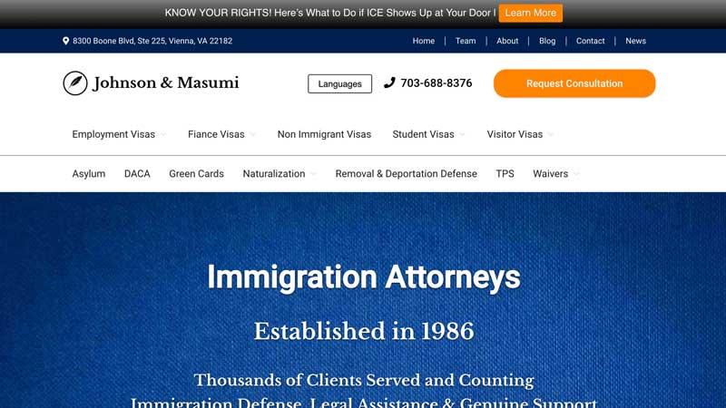 Johnson Masumi Desktop Screenshot