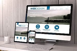 law firm using a very responsive website design to create optimized pages for their law firm marketing strategy