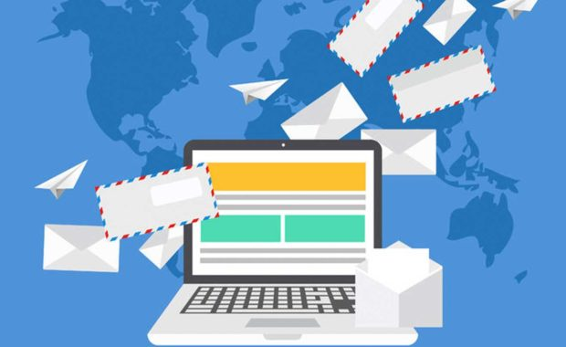newsletter that is distributing emails across the globe which contains a good email marketing strategy implemented by a law firm digital marketing agency