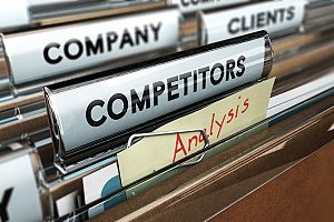 File that a digital marketing agency keeps of its clients competitors