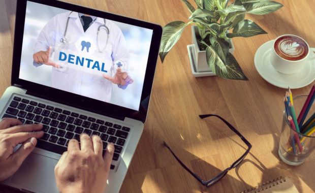 a dental practice website that is receiving quality backlinks