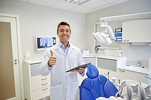 a dentist located in Fairfax, VA who is receiving web marketing services from a local dental marketing agency