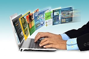 an insurance broker browsing through multiple websites do determine which type of website his digital marketing agency should develop for him