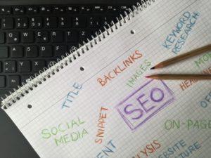 Digital marketing seo sketch