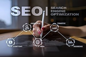 a representation showing white hat SEO and how a web marketing agency can help