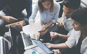 insurance digital marketing planning board