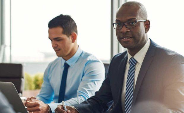two new interns in a Fairfax, VA digital marketing internship program