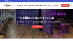 Bonds Escape Room Desktop Screenshot